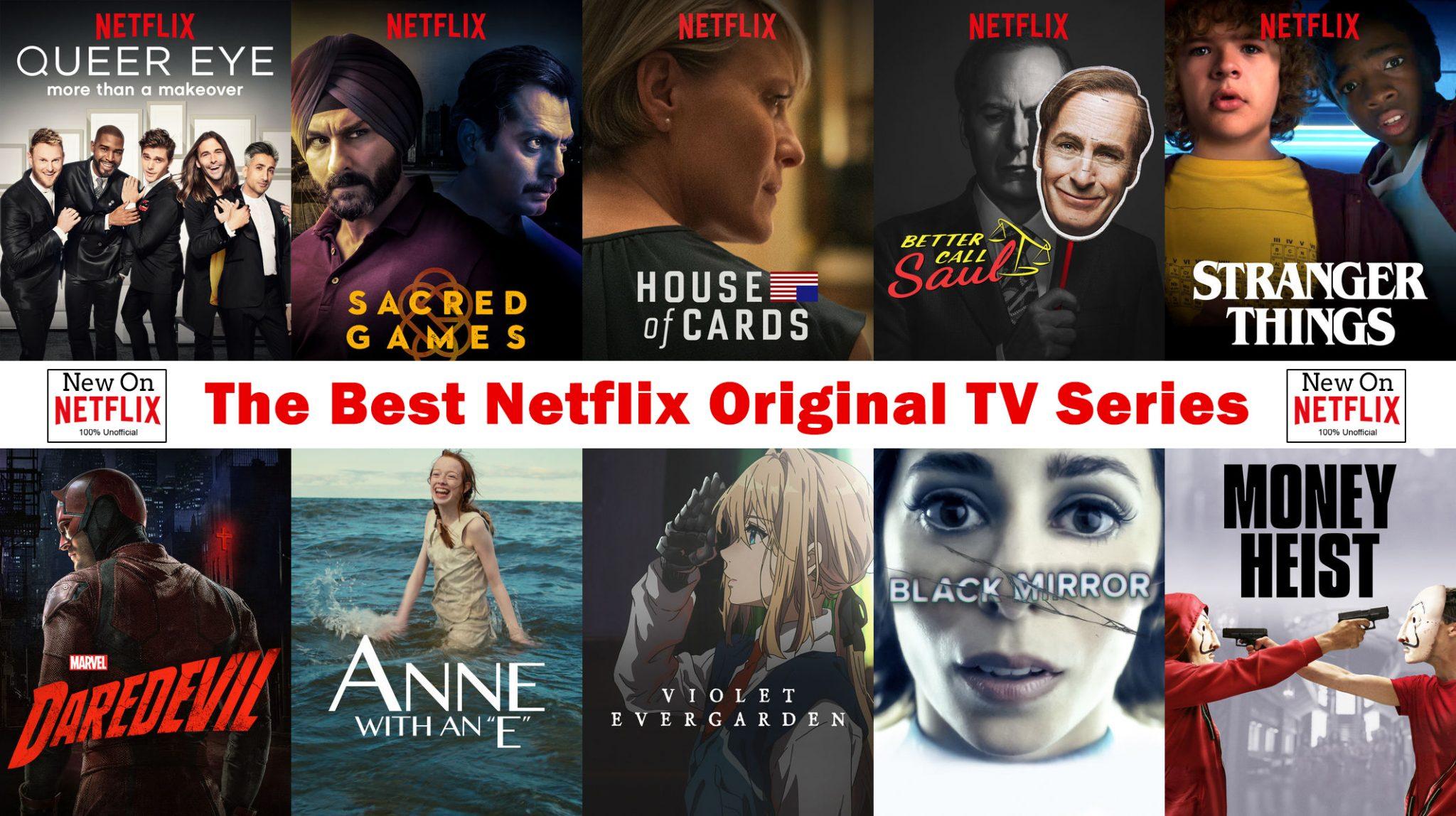 Séries Netflix