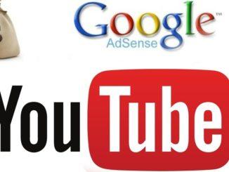 google adsense youtuber