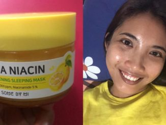 Somebymi Yuja Niacin Brightening Sleeping Mask Review