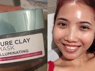 review loreal clay mask illuminating